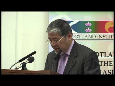 Asia Scotland Institute Ambassador Enrique A. Manalo Presentation