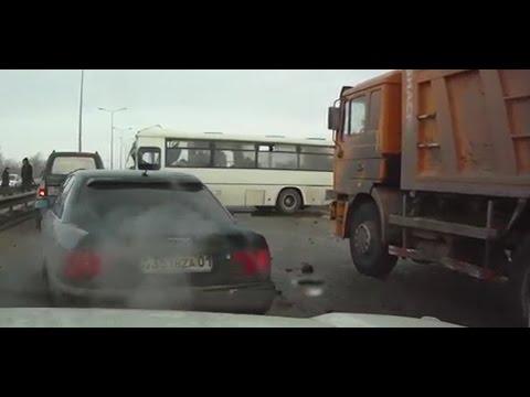 car crash compilation  kazakhstan 1