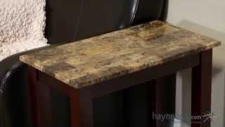 Palazzo Chair Side Table - Product Review Video