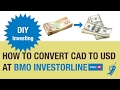 Norbert's Gambit at BMO InvestorLine | DIY Investing with Justin Bender