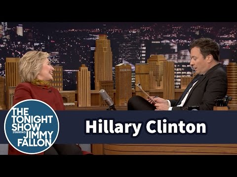 Mock Job Interview for President with Hillary Clinton