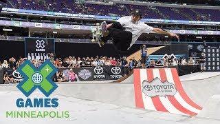 Cory Juneau wins Skateboard Park bronze | X Games Minneapolis 2017
