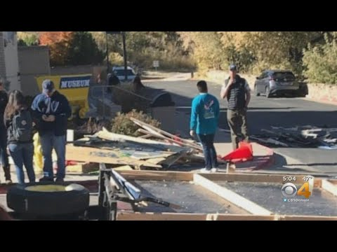 BEARDO - School of Mines Float Collapsed During Homecoming Parade