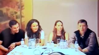 Видео-конференция с актерами сериала «Мамочки» телеканала СТС, второй сезон –фрагменты(3)