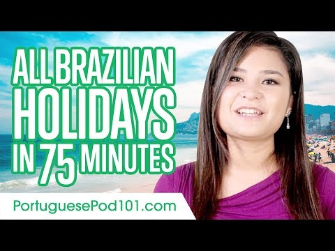 Learn ALL Portuguese Holidays in 75 Minutes