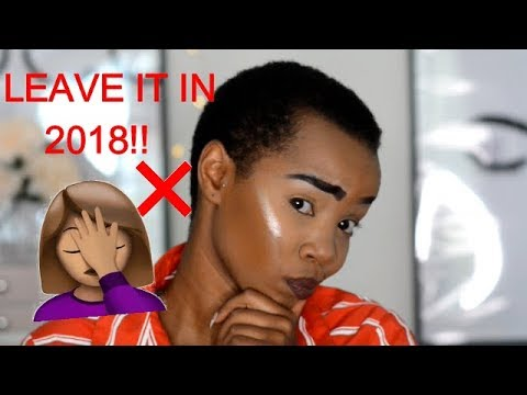 MAKEUP MISTAKES WE NEED TO LEAVE IN 2018!! thumbnail