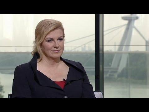 Presidente da Croácia Kolinda Grabar- Kitarovic  da paz à recessão e ao  feminismo 2fdd3cadee5c3