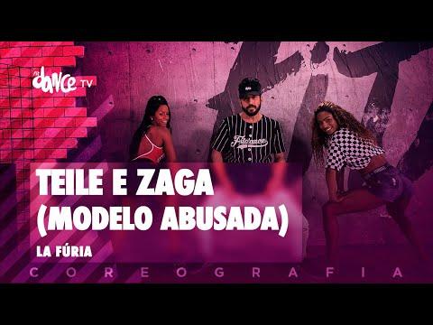 Teile e Zaga (Modelo Abusada)  - La Fúria   FitDance TV (Coreografia) Dance Video