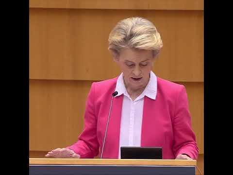 Highlights - Opening Statement by President von der Leyen at the European Parliament