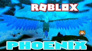 Playing as the BIGGEST Bird in ROBLOX FEATHER FAMILY - PHOENIX !