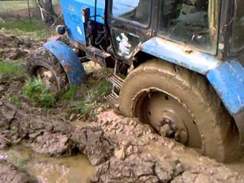 Передний мост трактора Беларус 82.1 - YouTube
