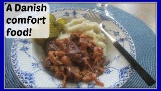 Bøf Stroganoff - Beef Stroganoff - A Danish Recipe Version