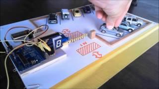 Arduino ile Akıllı Otopark Projesinin Bitmiş Hali