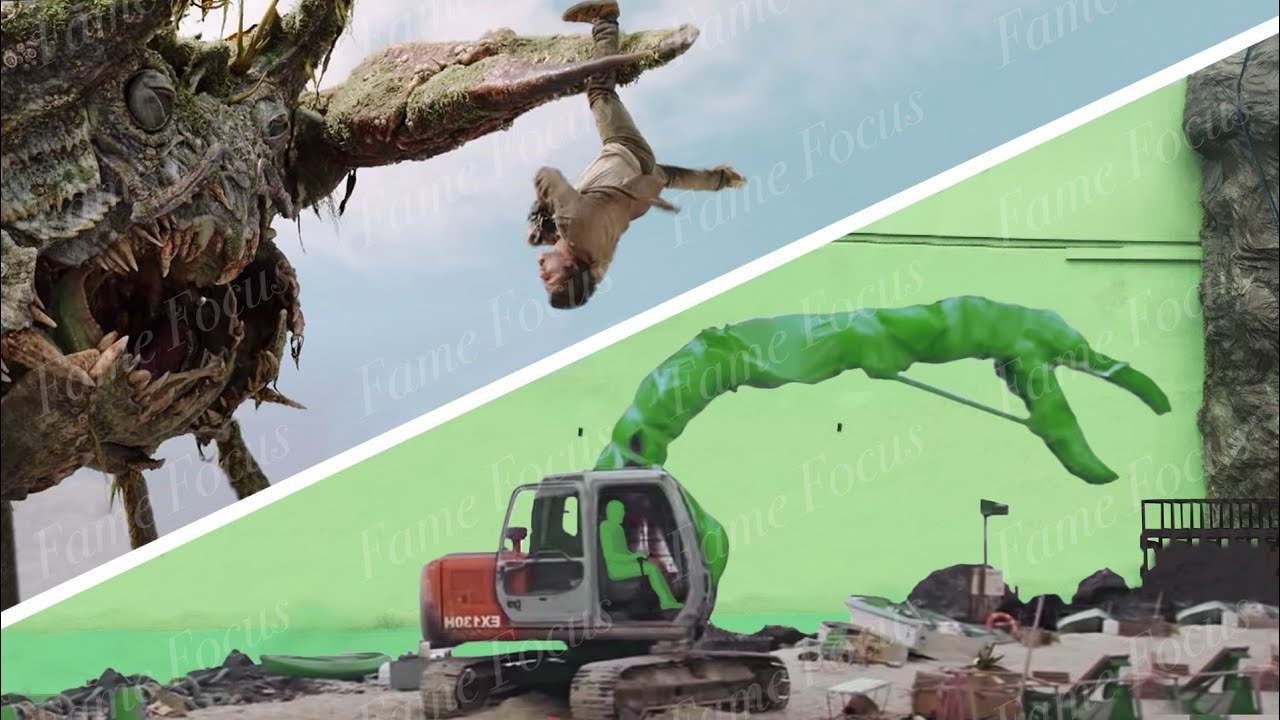 """""""Love and Monsters"""" ALL VFX REMOVED!"""