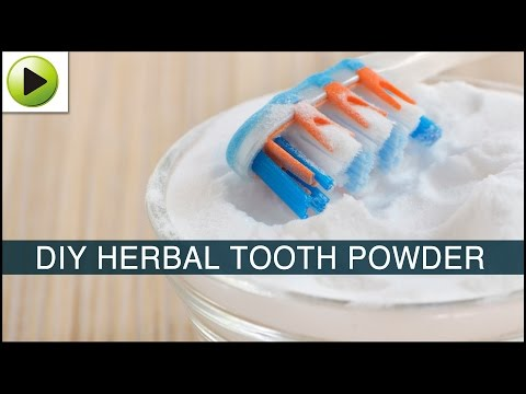 DIY Herbal Tooth Powder