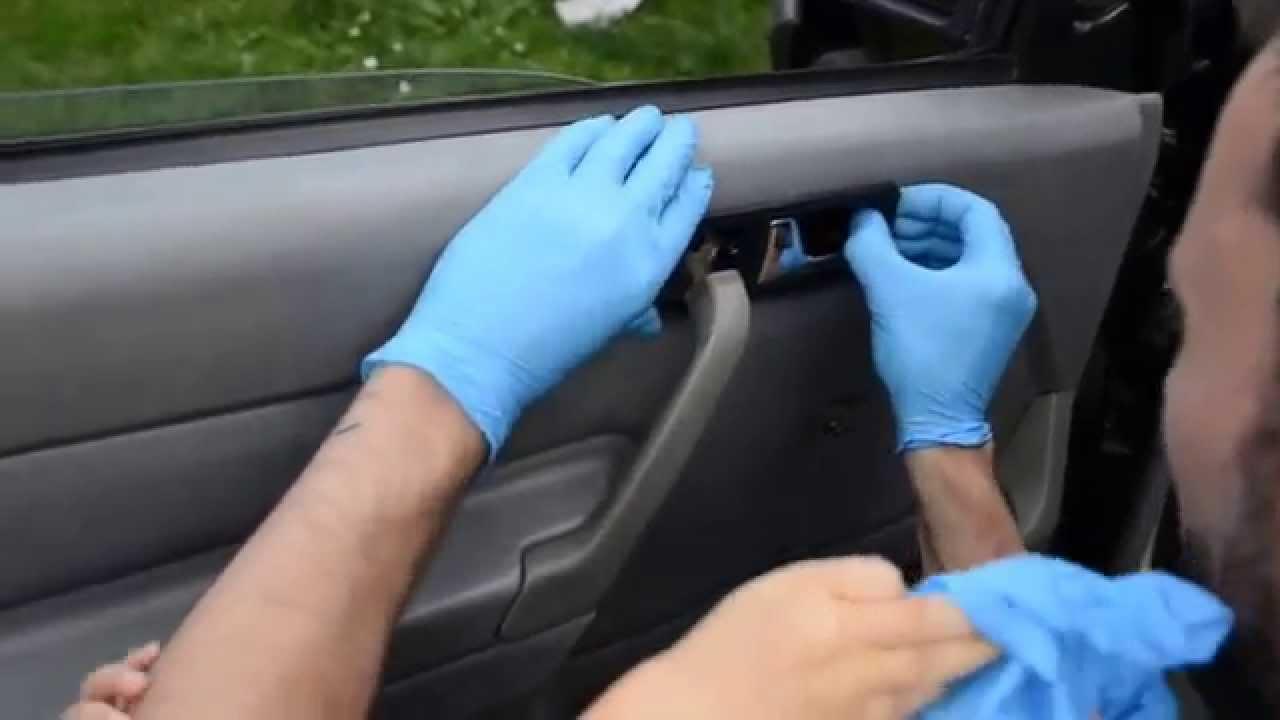 Mercedes W Demontaz Tapicerki Drzwi