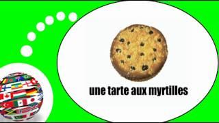 Французского видео урок = еда