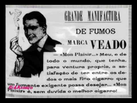 1910's - Reclame de Rádio e Revista - Cigarros Marca Veado