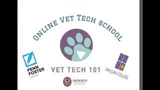 All about Online Vet Tech School