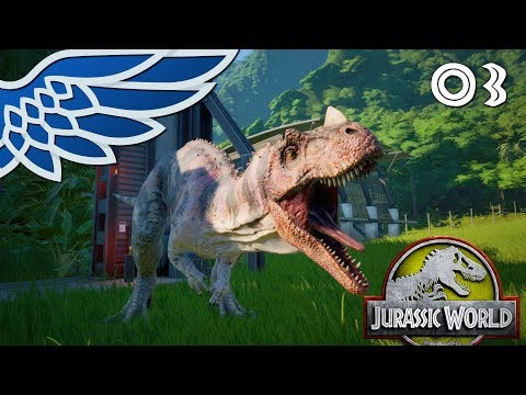 JURASSIC PARK | Dino Battle Part 3 - Jurassic World Evolution Let's Play Walkthrough