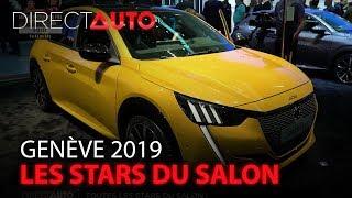 GENÈVE 2019 : LES STARS DU SALON