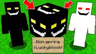NON APRIRE i LUCKYBLOCK dell'INTRUSO - Minecraft ITA CORSA SCP 4355