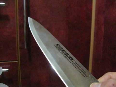 Koch Messer Test Youtube