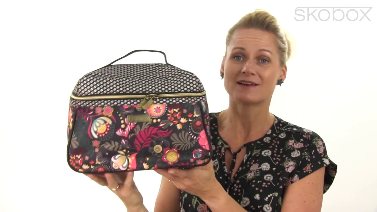 oilily taske l beauty case lilio sort item no 7531 921 youtube. Black Bedroom Furniture Sets. Home Design Ideas