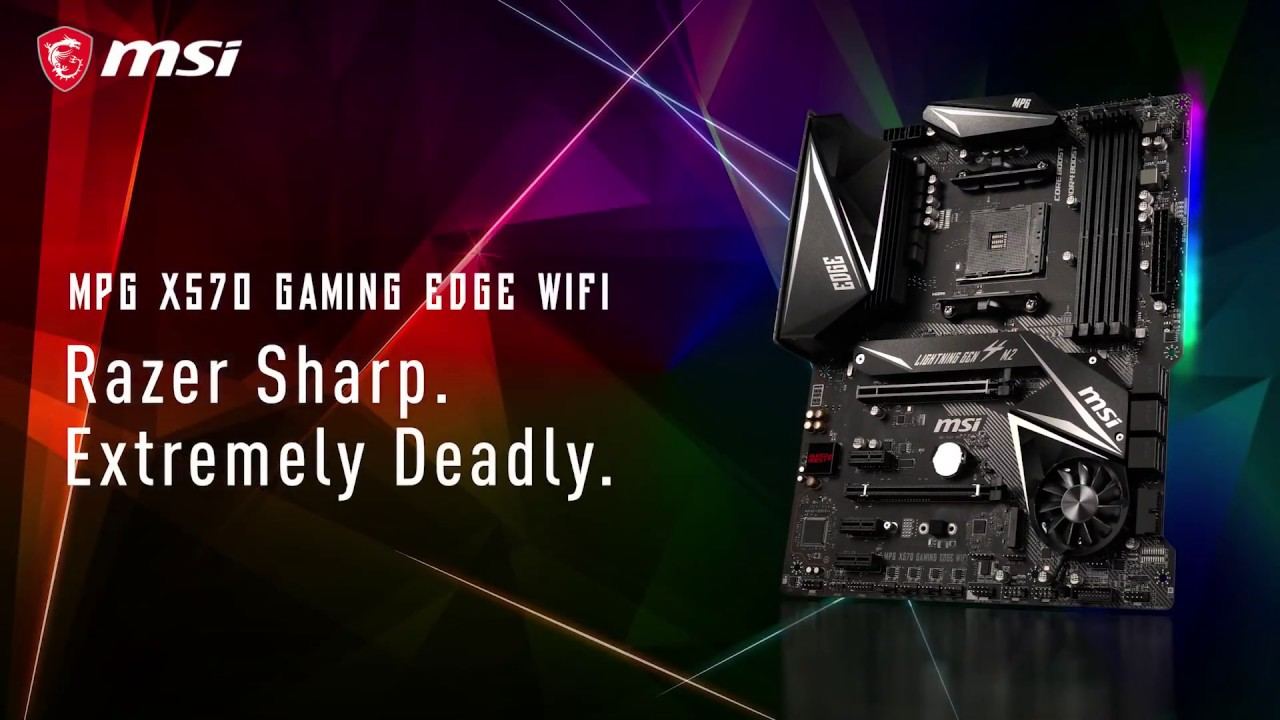 MPG X570 GAMING EDGE WIFI - Rapidité et stabilité