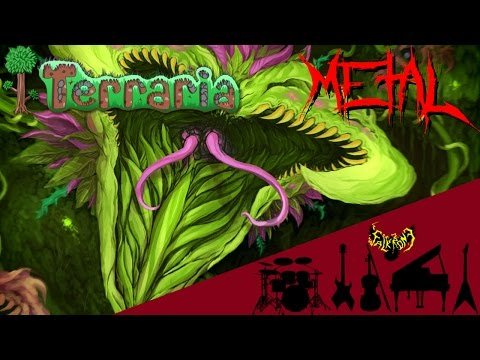 Terraria - Plantera 【Intense Symphonic Metal Cover】