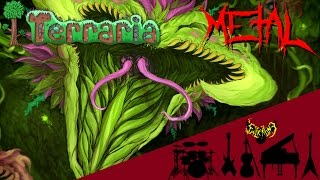 Video Terraria - Plantera 【Intense Symphonic Metal Cover】 download MP3, 3GP, MP4, WEBM, AVI, FLV November 2018