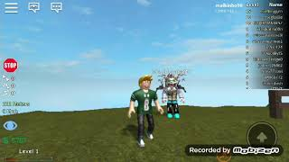 Breaking all over the ROBLOX
