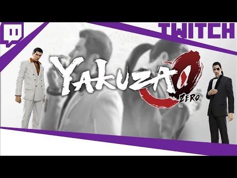 [TWITCH] Boblennon - Yakuza Zero - 13/03/18 - Partie [1/2]