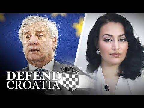 EU Parliament President claims Croatian territory for Italy? | Martina Markota