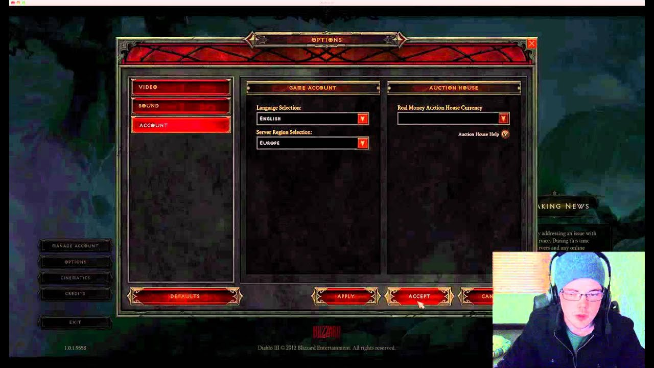 How to Change Your Diablo 3 Server to Avoid Server Issues