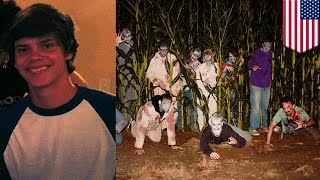 Teenager, Namatay Sa Isang Halloween Zombie Paintball Corn Maze!