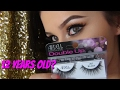 FALSE LASHES FOR YOUNG GIRLS AND TEENS: TIPS+LASH REVIEW