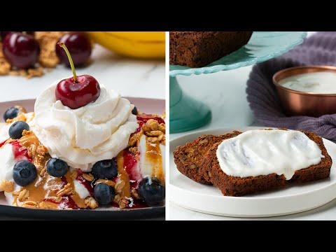Healthy Desserts For Breakfast 4 Ways Breakfast Videos Healthy Food Videos