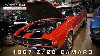 Muscle Car Of The Week Video #26: 1967 Camaro Z/28