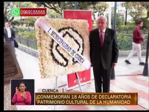 Conmemoran 18 años de declaratoria patrimonio cultural de la humanidad