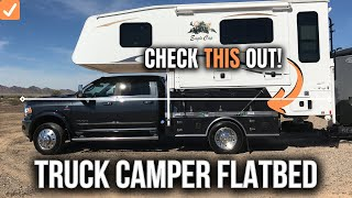 Truck Camper Flatbed Kit by StableCamper \\ Modular Flatbed System for Truck Campers 4500 and 5500