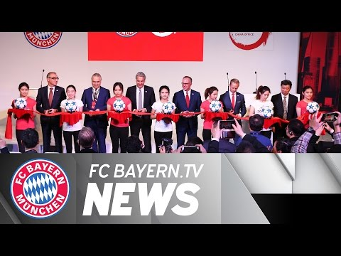 FC Bayern opens Shanghai office
