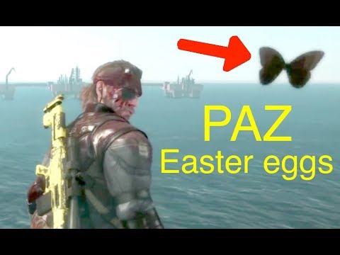 MGSV: Phantom Pain - All Paz Easter Eggs (Memento Photos) Me