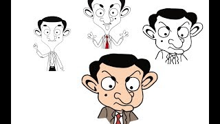 Draw Mr Bean Mr Bean Official Funny Clips #MrBean #MrBeanOfficial #MrBeanLive