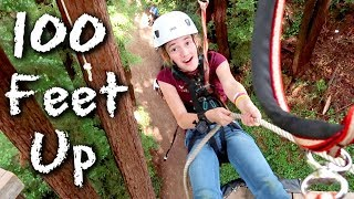 My Daughter is a Fearless Legend - 100 Feet Up in the Air!