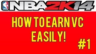 How To Earn VC Easily on NBA 2K14 #1: The Mobile App