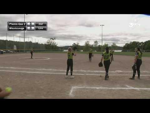 Eastern Canadian U14 Girls Softball - Mississauga Vs Prenix Quebec