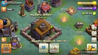 clash of clans inşaatcı üssü binası 8 level