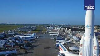 Международный авиакосмический салон открывается в Ле-Бурже