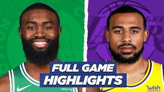 CELTICS Vs LAKERS FULL GAME HIGHLIGHTS   2021 NBA Season